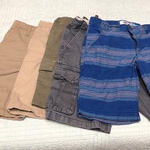 Bundle of 5 boys shorts